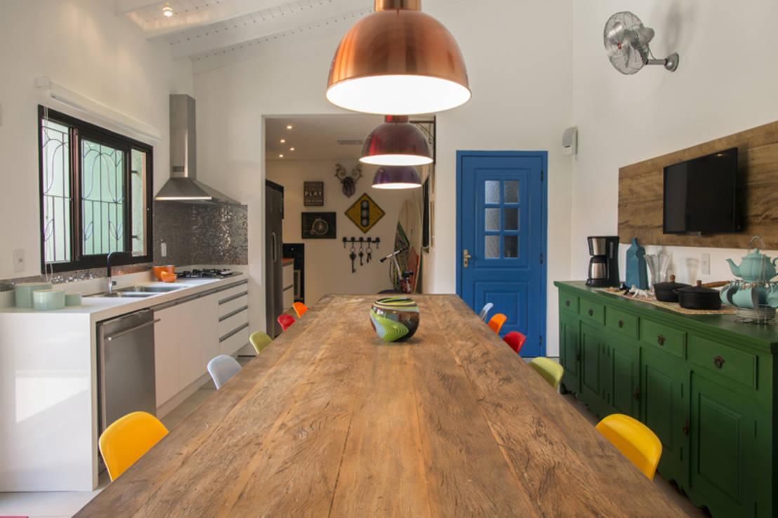 Decorao De Cozinha Rustica E Moderna Sala De Jantar Rustica